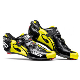 Sidi Wire Carbon Shoes Men Black/Yellow Fluo